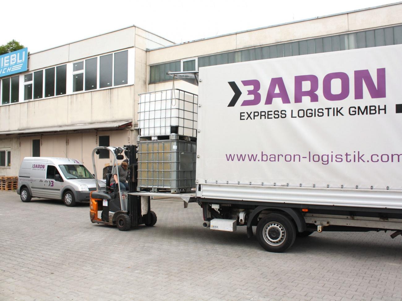 baron express logistik gmbh wenn es schnell gehen muss galerie. Black Bedroom Furniture Sets. Home Design Ideas