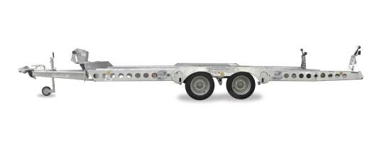 Der Anhänger Autotransporter  >  die Huckepack-Lösung